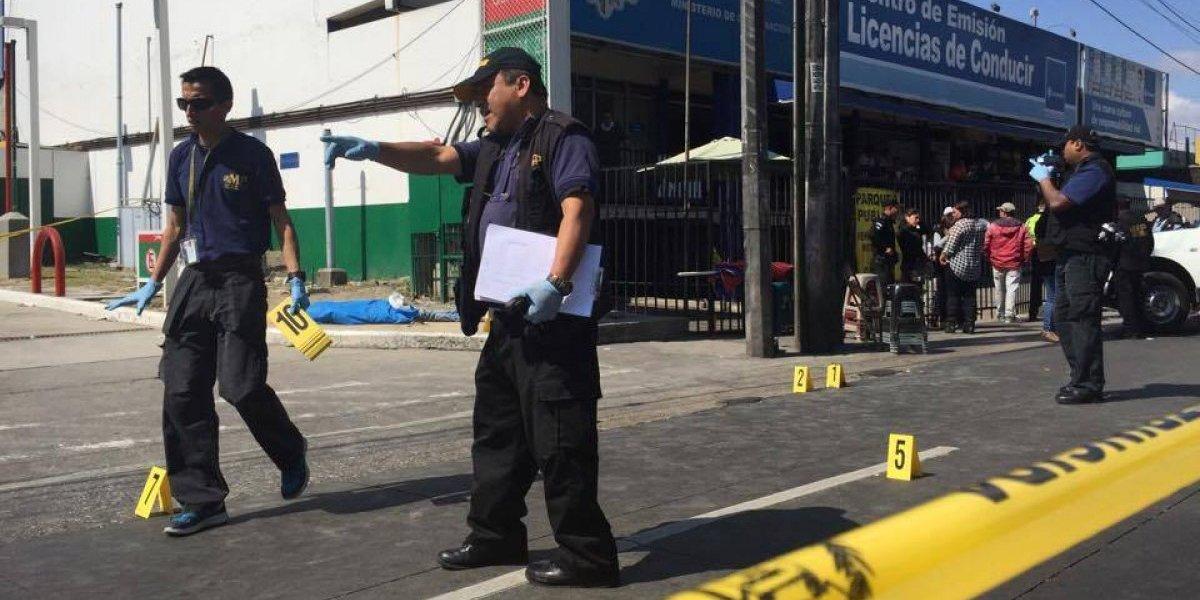 Dos fallecidos y dos heridos por tiroteo en la zona 9