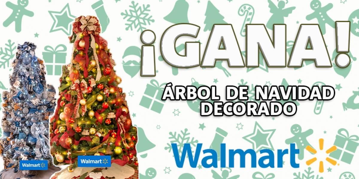 ¡Gana! árbol de navidad decorado