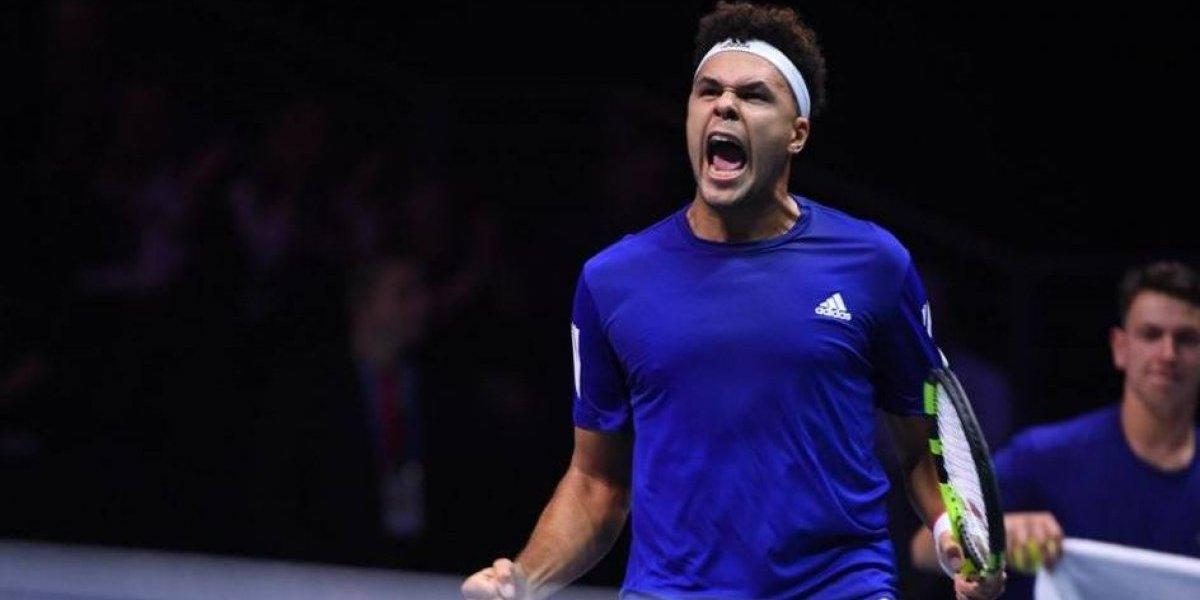 Copa Davis: Francia y Bélgica cumplen la lógica e igualan tras el primer día de la final