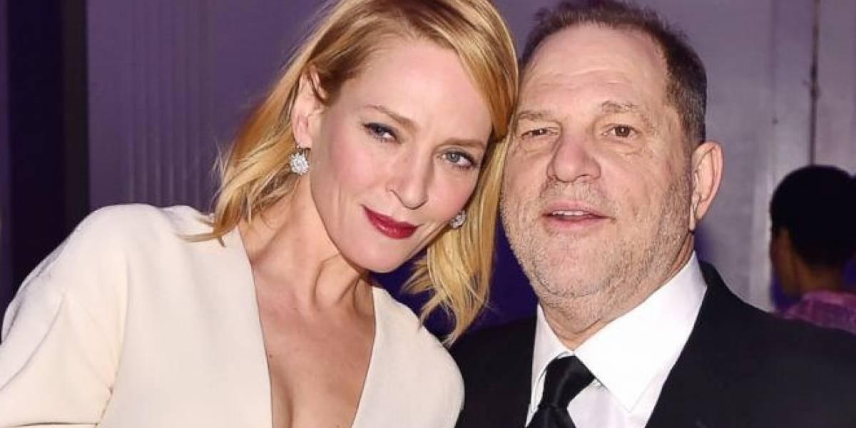 Uma Thurman está feliz de ver caer a Harvey Weinstein