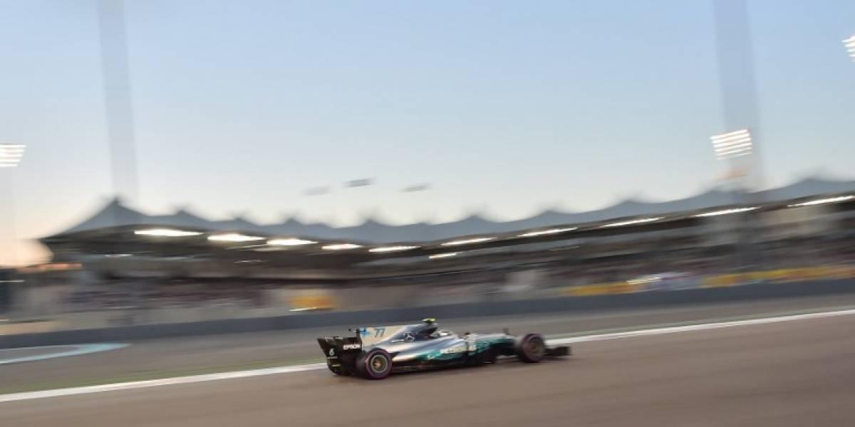 Bottas marca la pole en Abu Dhabi y sueña con el subcampeonato de la F-1