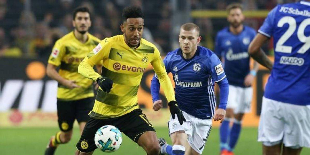 ¿El partido del año? Dortmund ganaba 4-0 el clásico al Schalke y se lo empataron