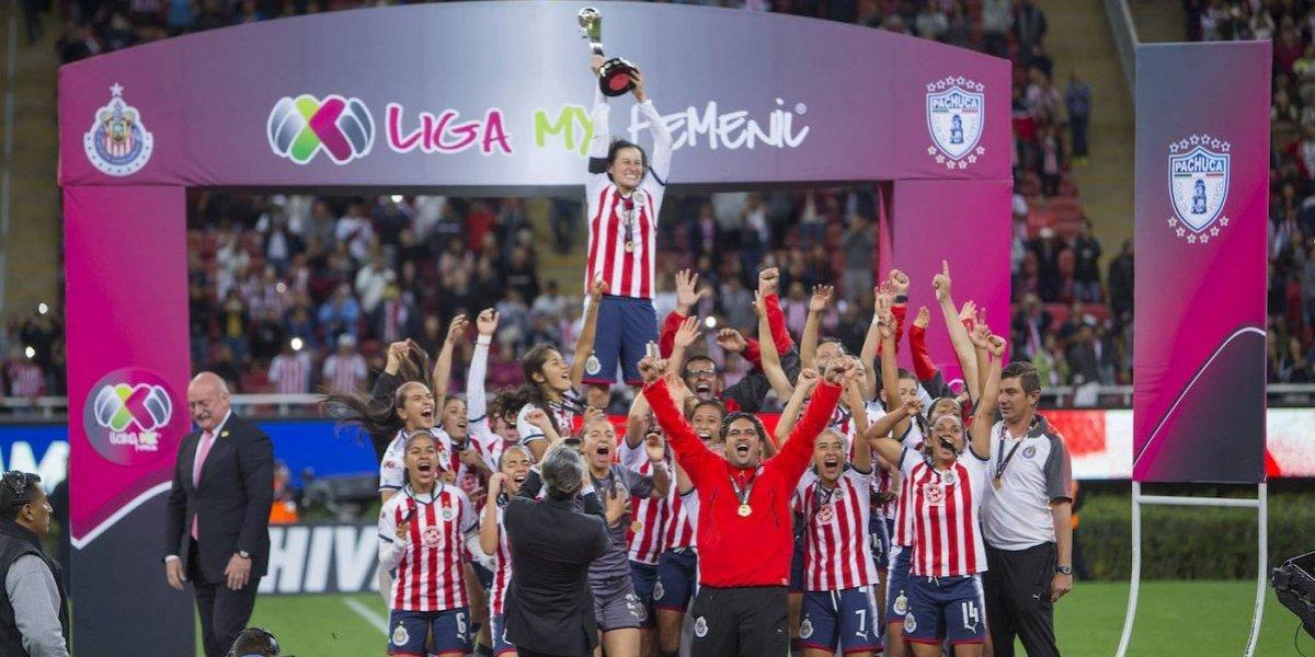 ¡Chivas es el histórico campeón de la Liga MX Femenil!