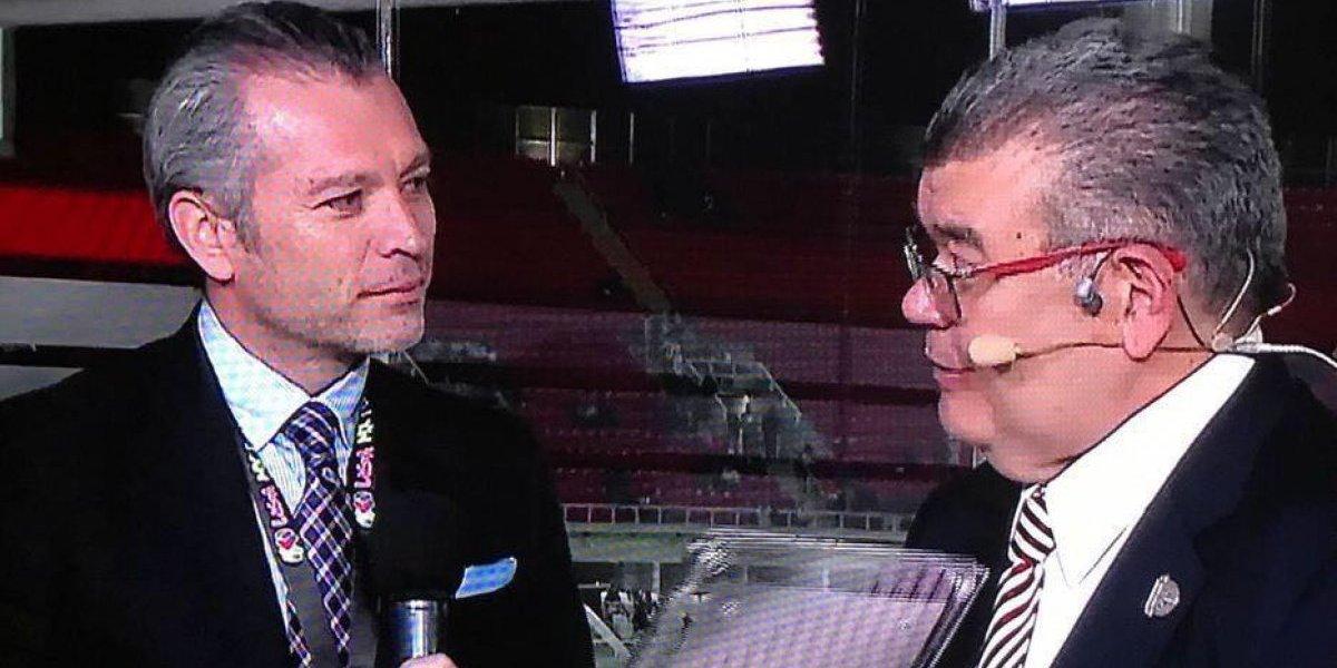 Emilio Fernando Alonso se despidió de Chivas TV