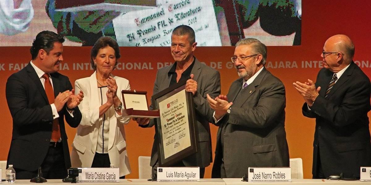 Arranca Feria del Libro de Guadalajara con premio para Emmanuel Carrère