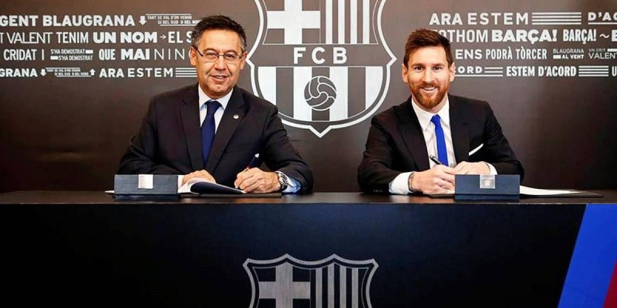 ¿Alguien la pagará? La increíble cláusula de US$ 835 millones que cuesta Lionel Messi