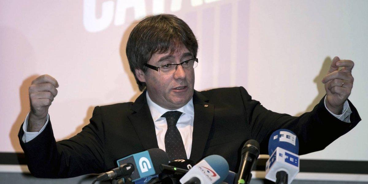 Desde Bélgica, Puigdemont busca su reelección en Cataluña