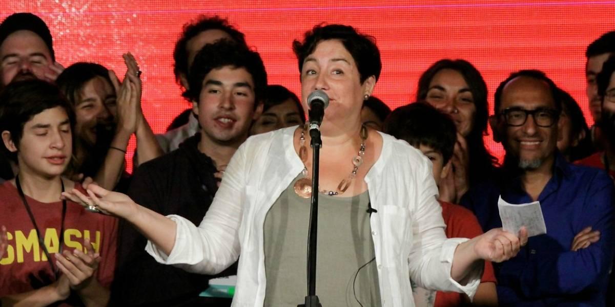 """Beatriz Sánchez asegura que la segunda vuelta no depende del Frente Amplio: """"Acá son otros los que no han hecho la pega"""""""