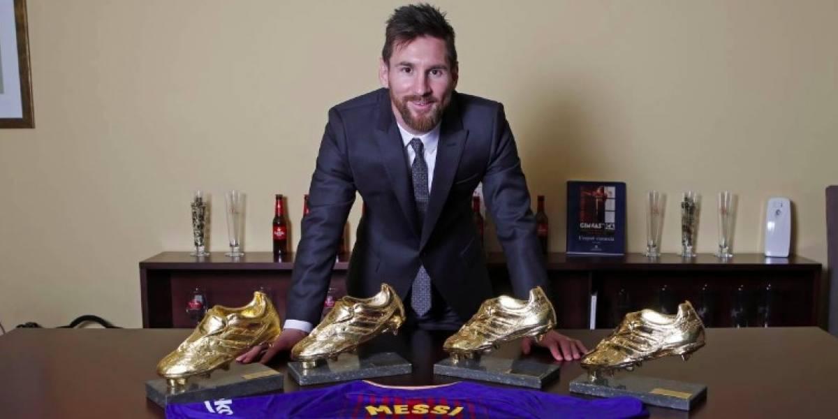 El mensaje de Messi tras ganar su cuarta Bota de Oro