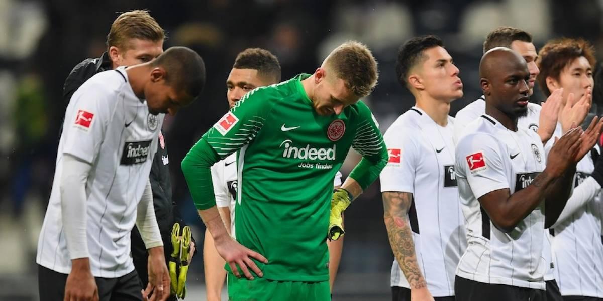 Con Salcedo de titular, el Eintracht sufre derrota contra Leverkusen