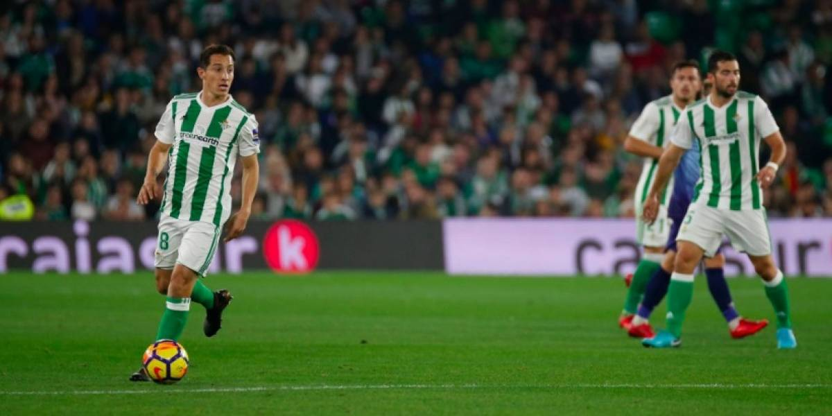 VIDEO: Andrés Guardado marca golazo en empate del Betis ante Girona