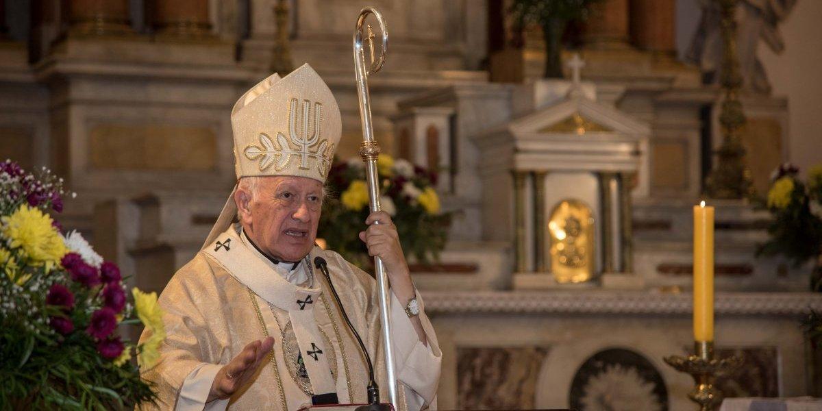 Desde el terremoto de 2010 estaba cerrado: Cardenal Ezzati bendijo reapertura del Templo San Ana