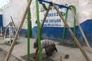 Gimnasio al aire libre en Mixco