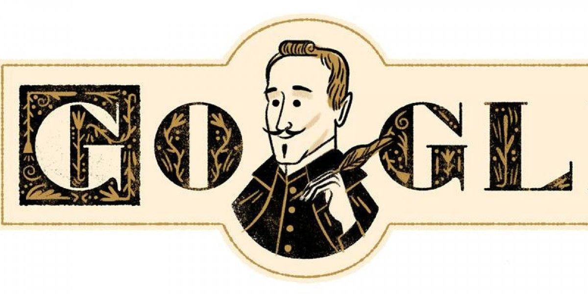 ¿Por qué Lope de Vega aparece en el Doodle de Google?