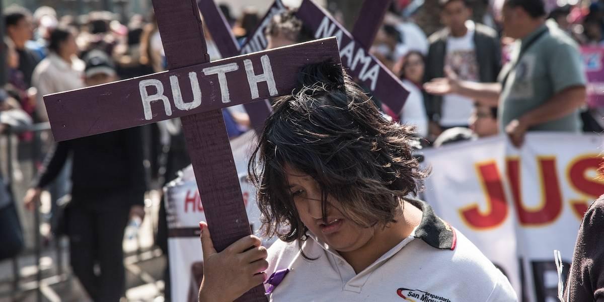 Galería: Miles de personas marchan contra feminicidios en México