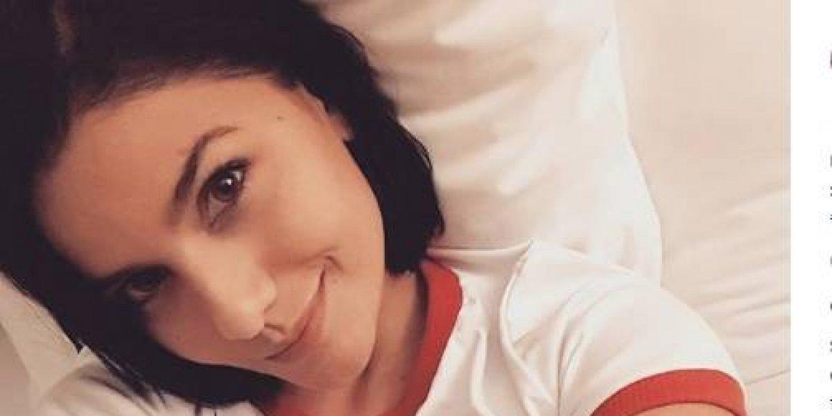 La sensual foto de Martina La Peligrosa, que cerró con un misterioso mensaje