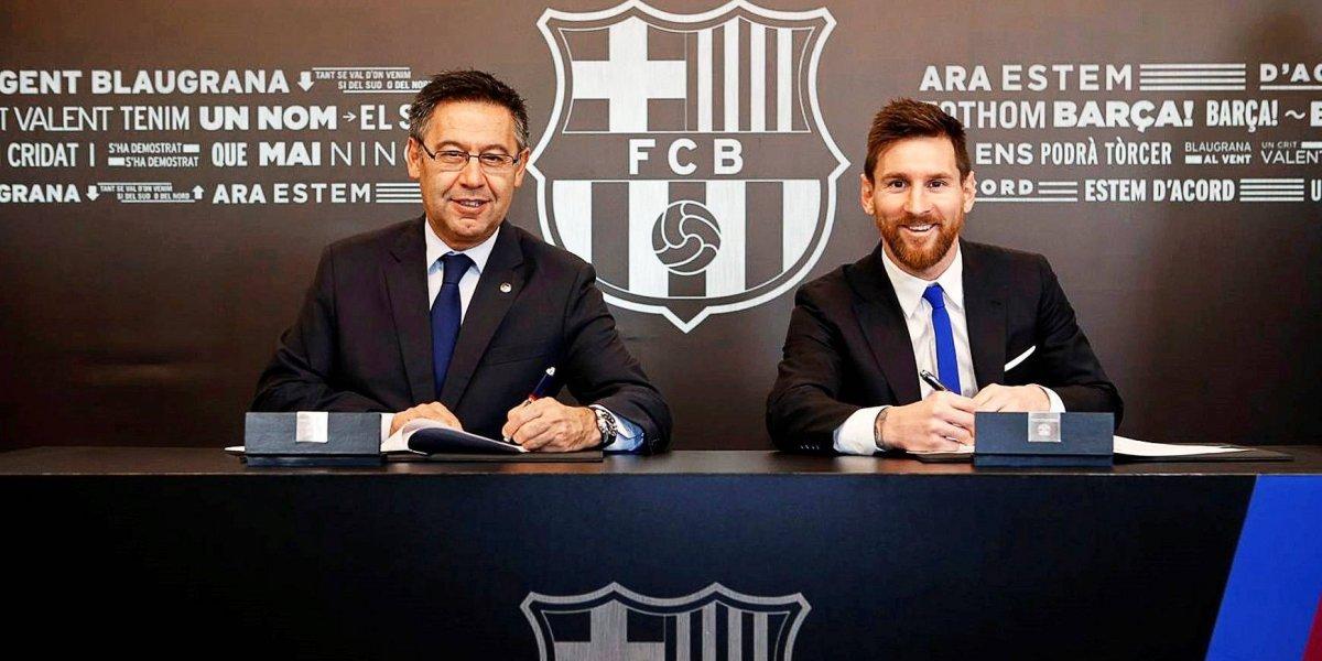 La escalofriante cláusula de rescisión que puso Messi en su nuevo contrato