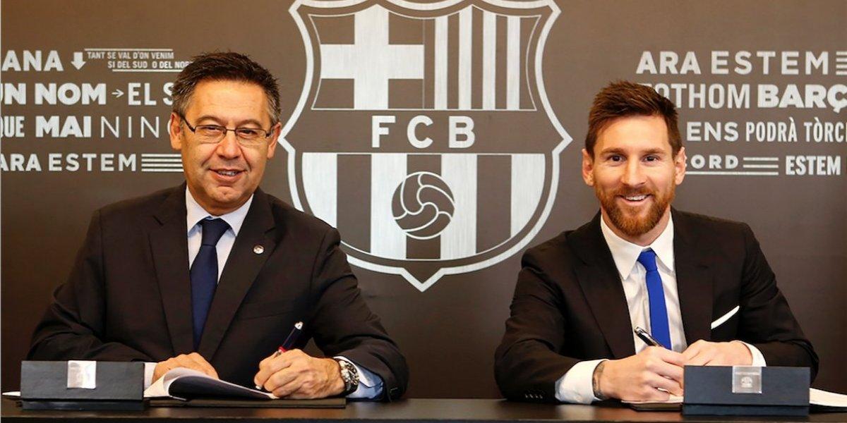 Messi acabó con las especulaciones y renueva con el Barcelona