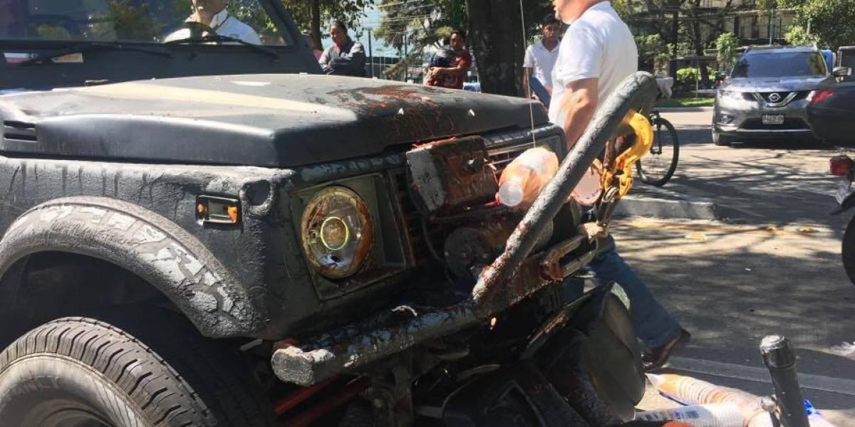 VIDEO. Avenida Reforma vuelve a ser escenario de un accidente de tránsito