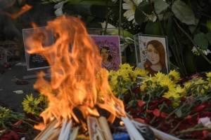 Ceremonia maya para víctimas Hogar Seguro