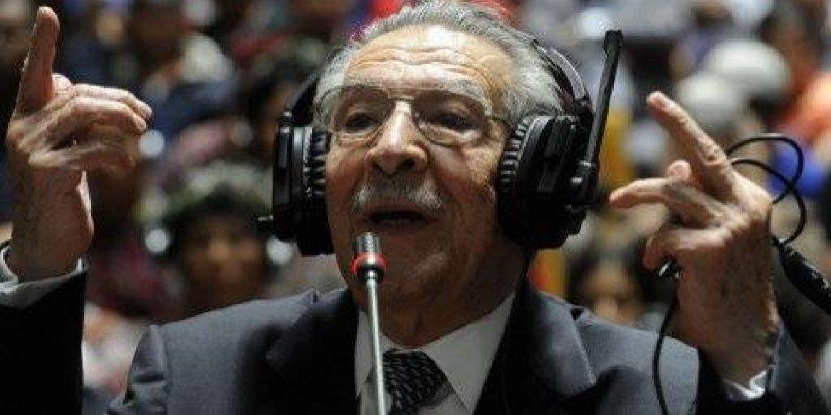 Fallece el general retirado José Efraín Ríos Montt