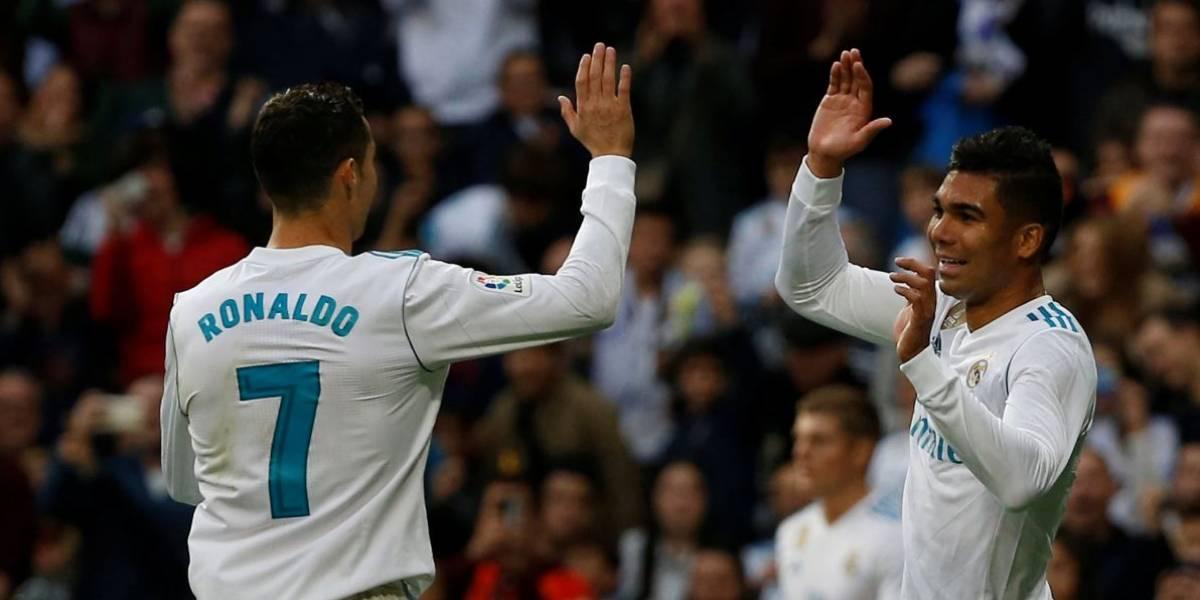 Casemiro marca, Cristiano Ronaldo desencanta em casa e Real bate Málaga por 3 a 2
