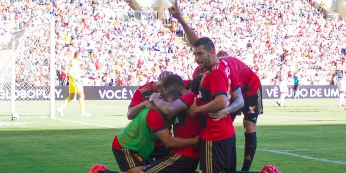 Sport vence o Fluminense e deixa a zona de rebaixamento