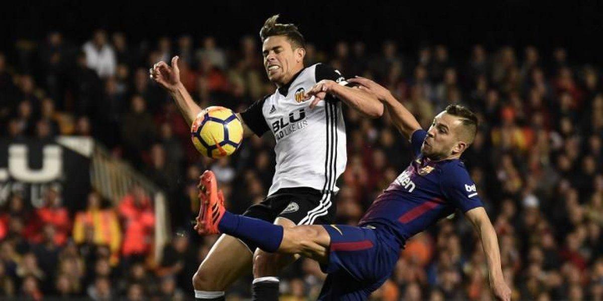 Barcelona iguala y pierde puntos ante Valencia por culpa de un gol fantasma