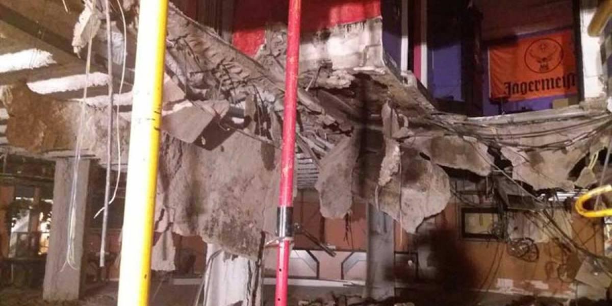 Al menos 40 heridos por derrumbe en una discoteca de España