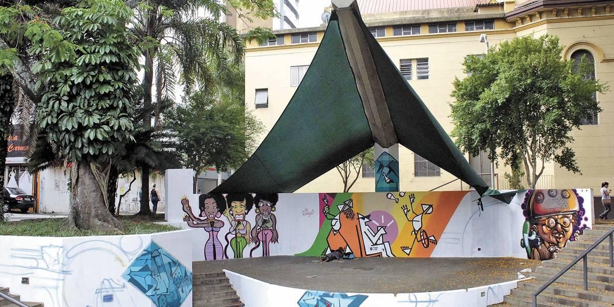 Grafite da avenida Santos Dumont, em Santo André, atrasa e Prefeitura diz que não há previsão para término