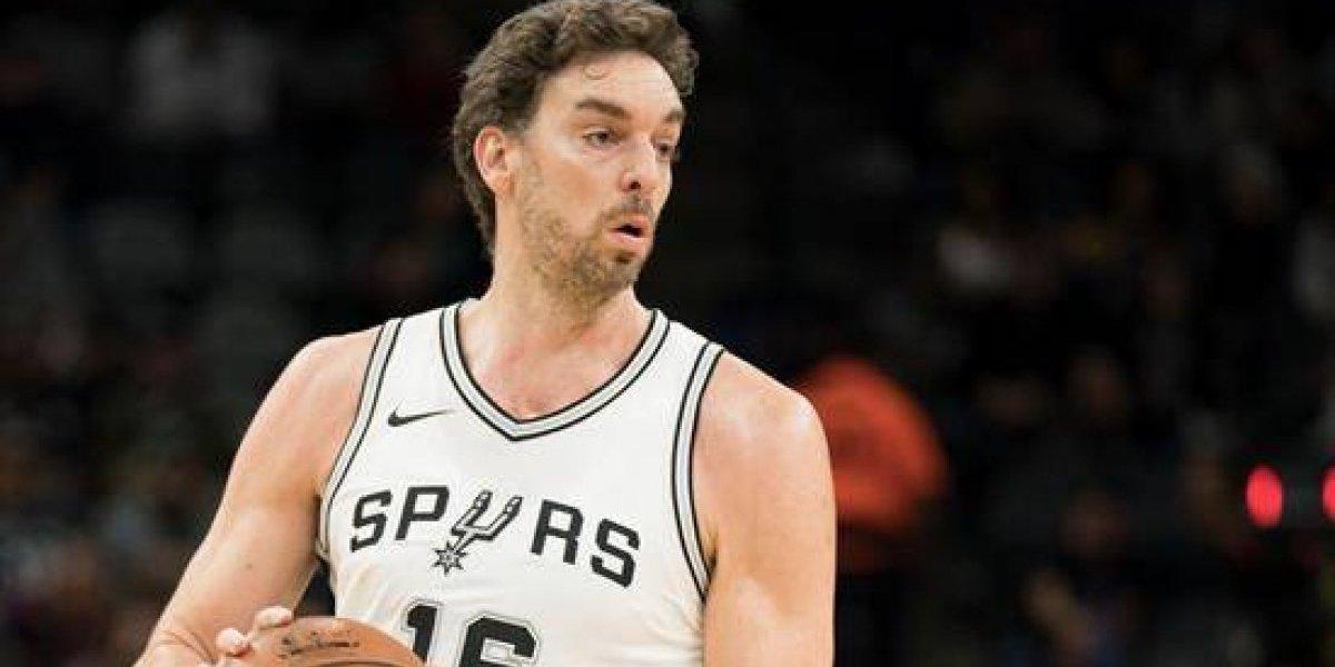 NBA: Gasol y Ginóbili brillan en victoria de San Antonio que sigue en racha