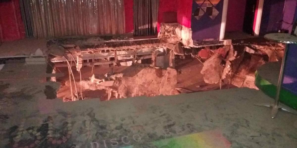 Derrumbe de discoteca en España deja incontables lesionados