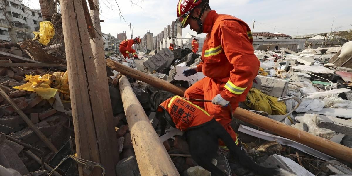 Al menos dos muertos y más de 30 heridos por explosión en fábrica de China