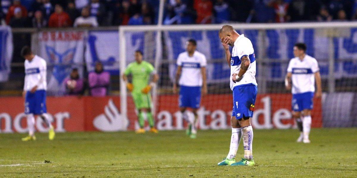 La crisis deportiva de la UC la dejó sin copa internacional por primera vez en 9 años