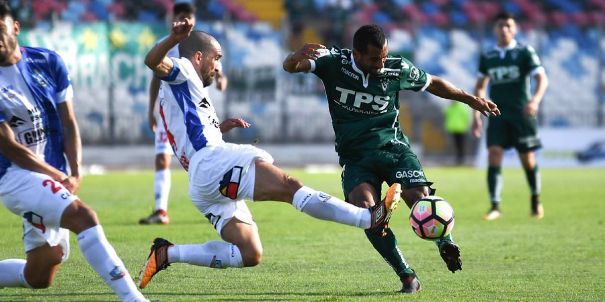 Wanderers rescata un empate ante Antofagasta que no le sirve de mucho en su lucha por no descender