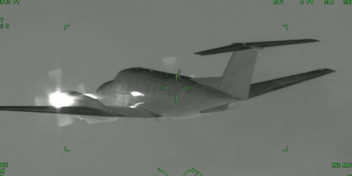 Inmovilizan aeronave que pretendía ingresar ilegalmente a Colombia