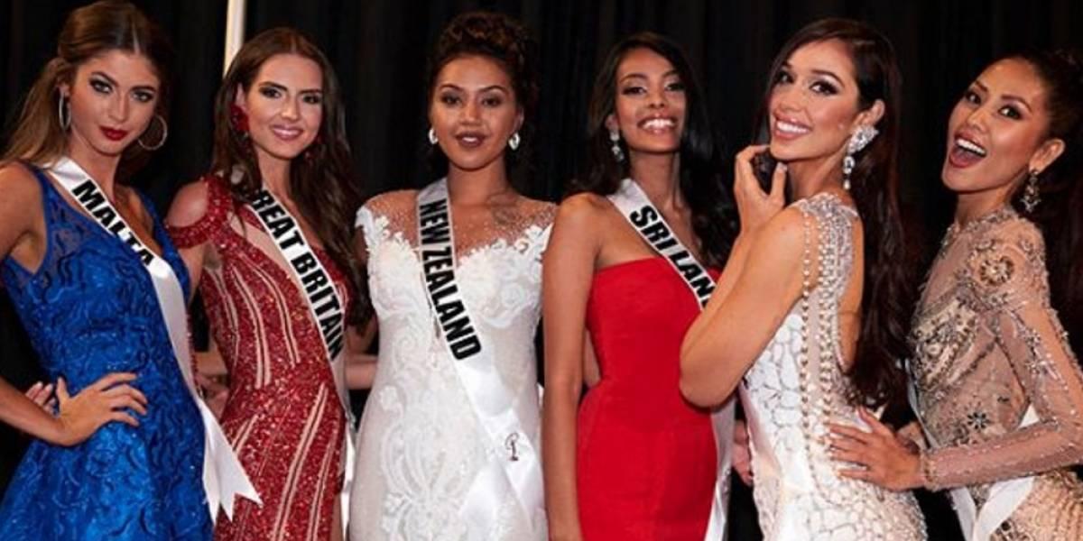 Estas son las 7 favoritas de Miss Universo 2017, ¿cuál es la suya?