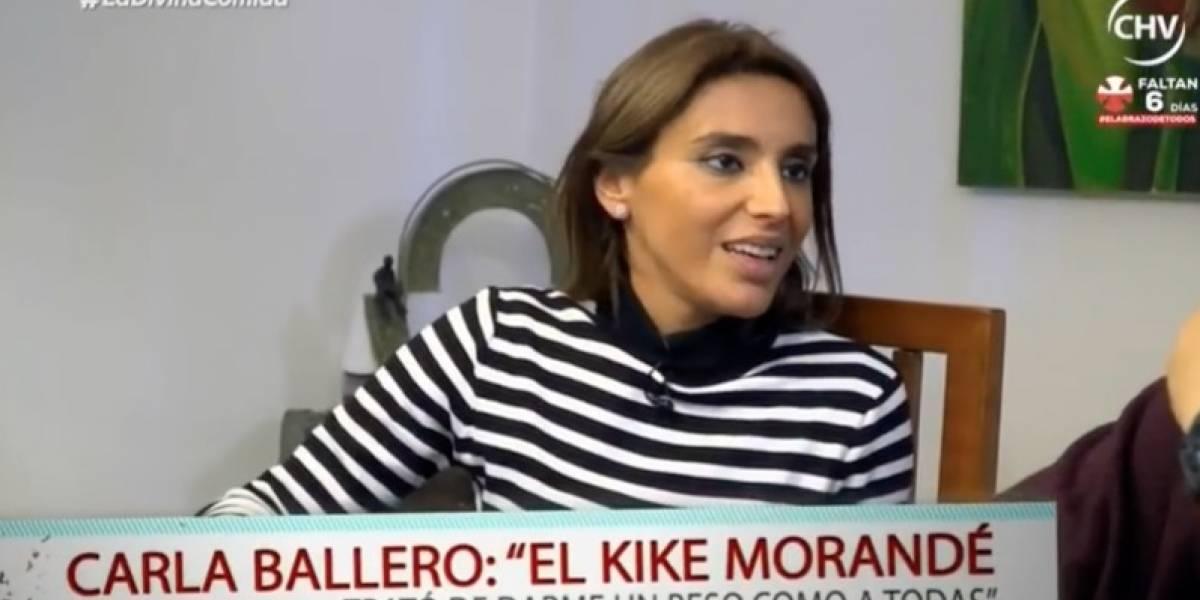Carla Ballero confesó que fue acosada por Kike Morandé