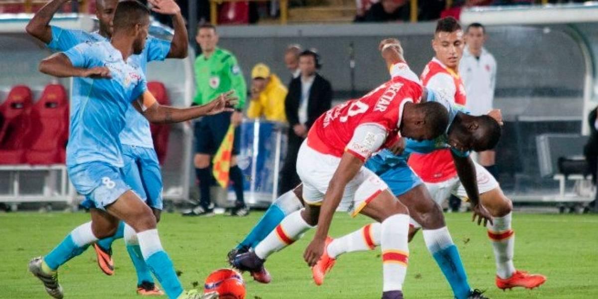 Santa Fe y Jaguares aplazaron las emociones para el juego de vuelta en El Campín