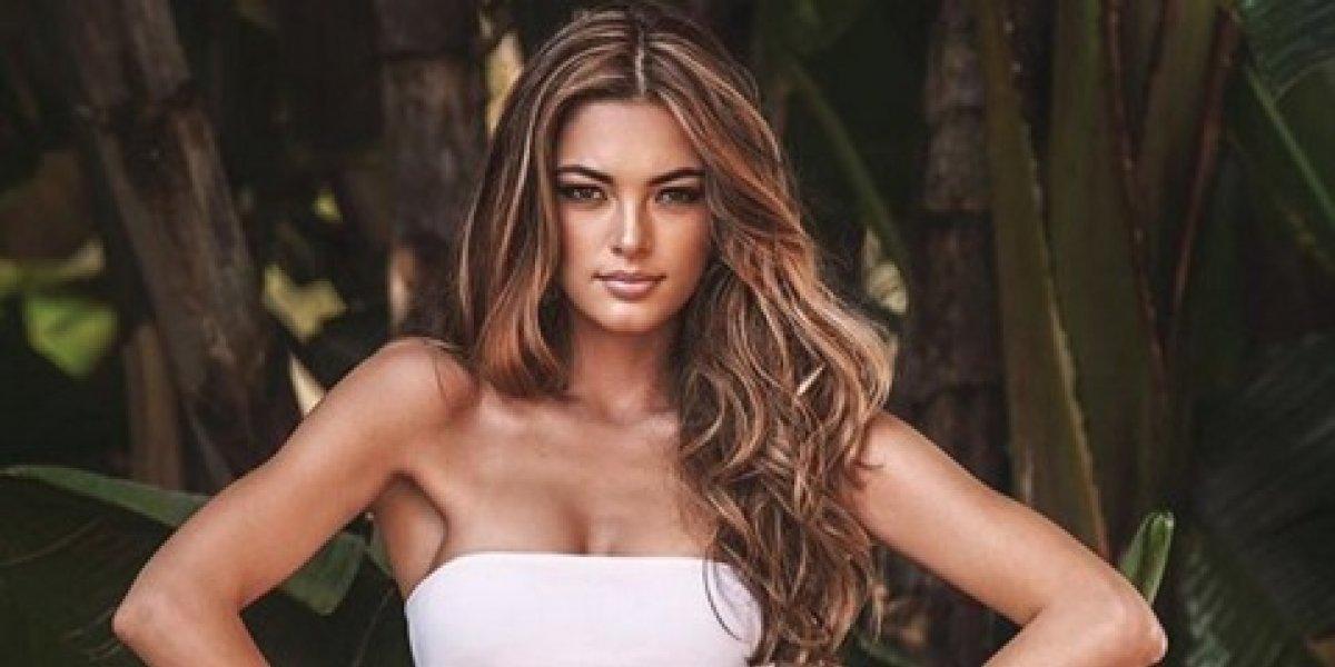 Antes de ganar Miss Universo, la representante de Sudáfrica causó polémica por una foto