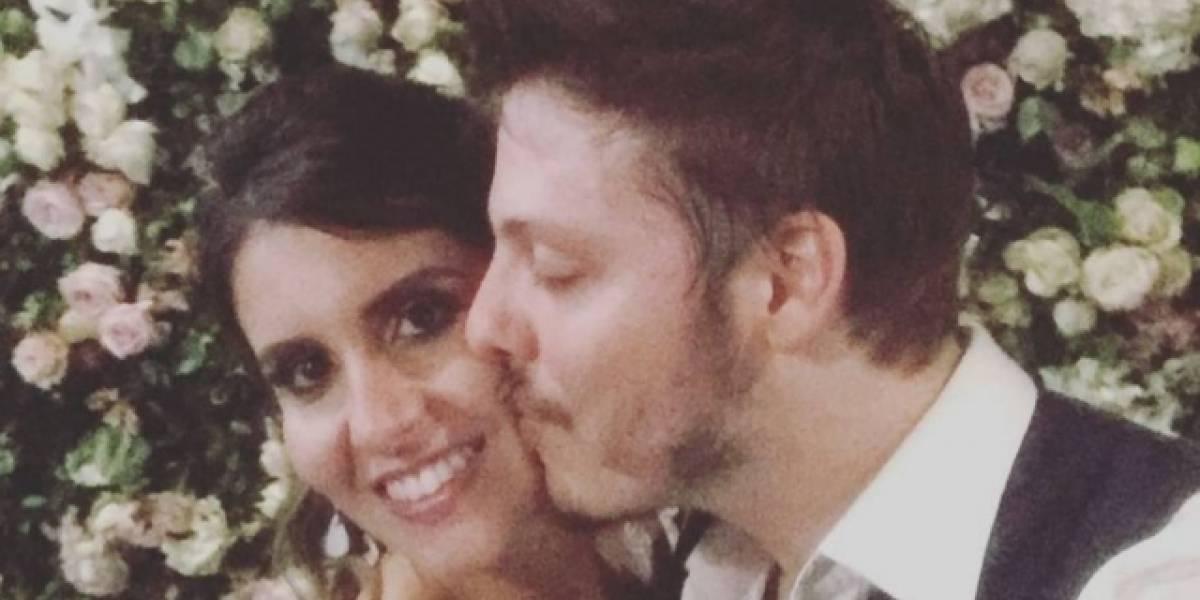 Casamento de Porchat com Nataly Mega reúne famosos no Rio de Janeiro