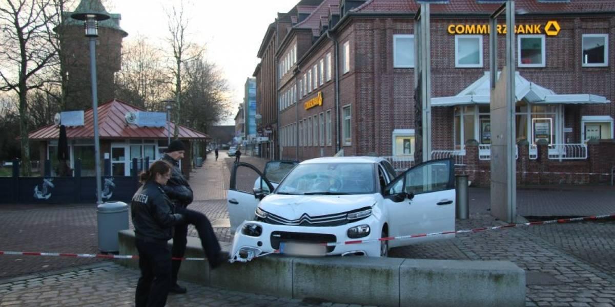 Al menos 6 heridos por atropellamiento intencionado en Alemania