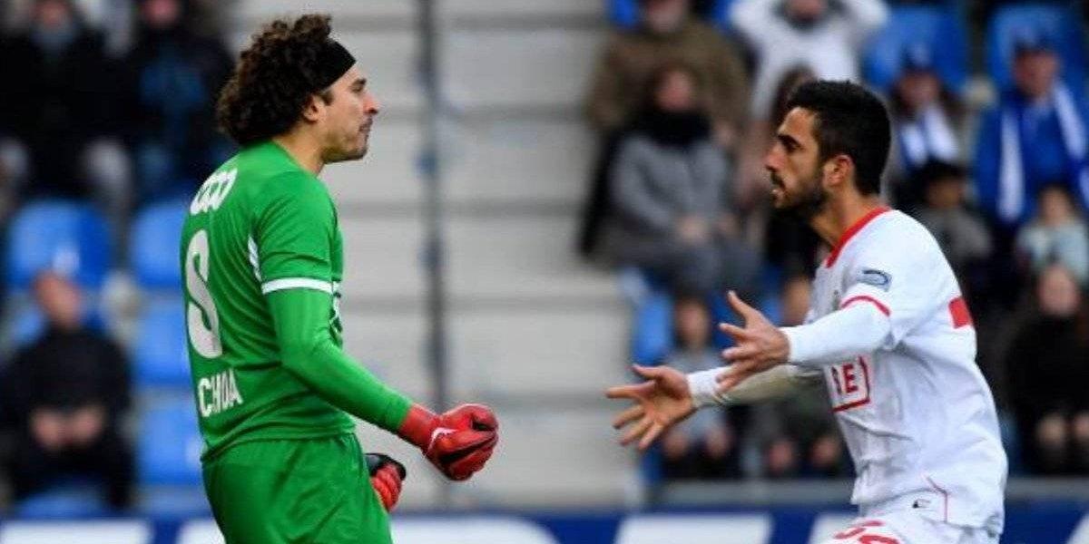 Con Ochoa en plan grande, Standard de Lieja regresó a la victoria