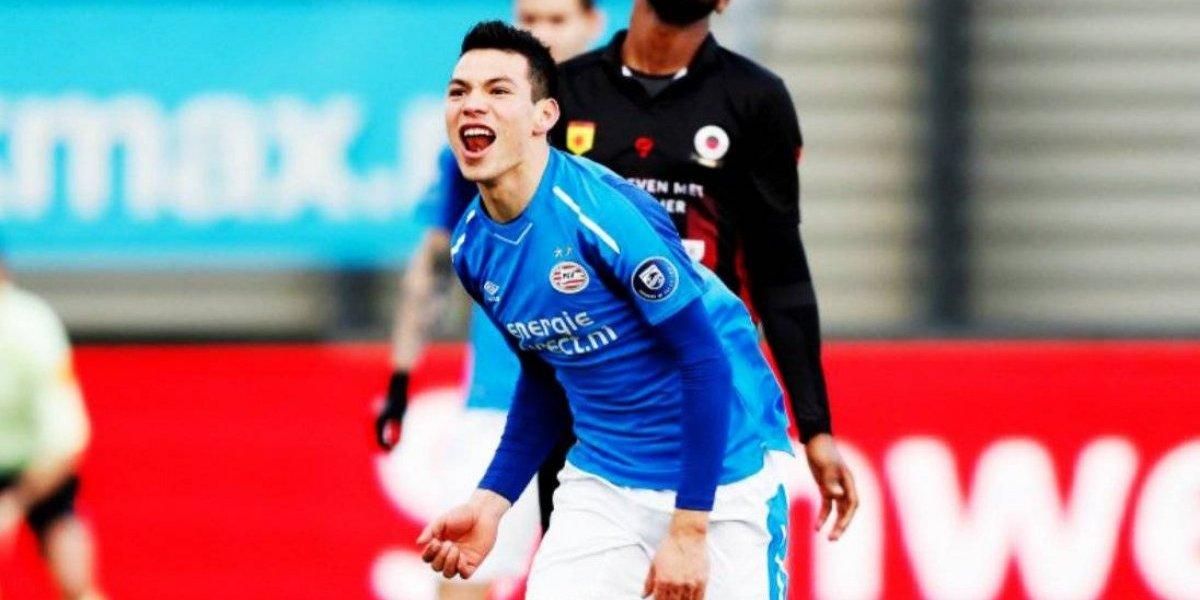 'Chucky' Lozano anota su décimo gol de la temporada con PSV