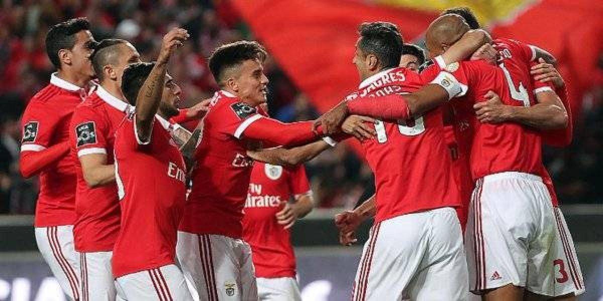Benfica humilló a Vitoria Setubal con marcado de 6-0