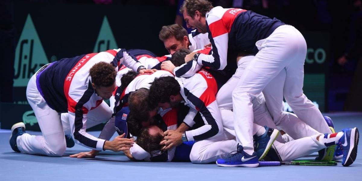 Francia impuso su jerarquía y se llevó la 10ª Copa Davis de su historia