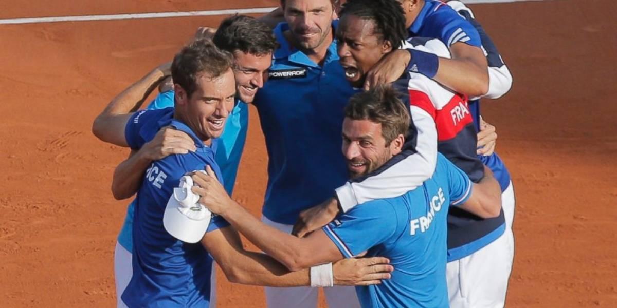 Francia, nuevo monarca de la Copa Davis