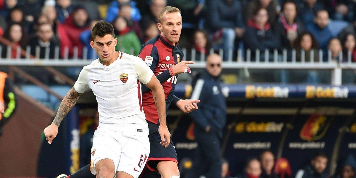 Sin Moreno en la cancha, Roma sacó valioso empate