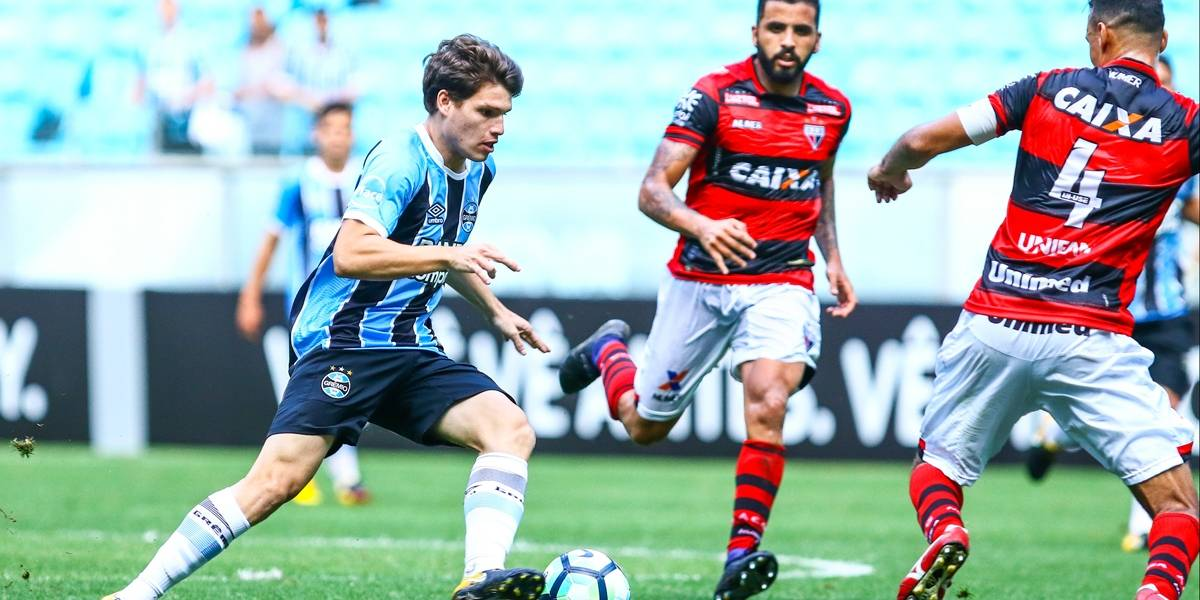 Grêmio empata com o Atlético-GO antes da final da Libertadores