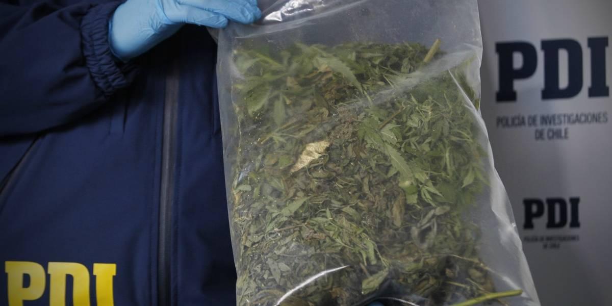 Detienen a mujer paraguaya que intentó ingresar 10 kilos de marihuana en una maleta con doble fondo